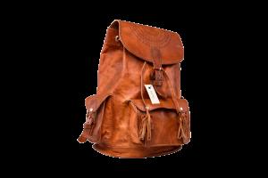 hecho Lederrucksack Irene handgefertigt fair trade Backpack Leather Bag