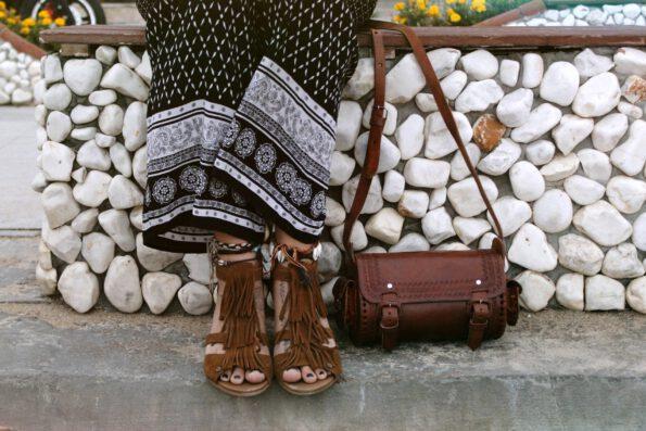 Damenhandtasche Ledertasche Veroni Schultertasche