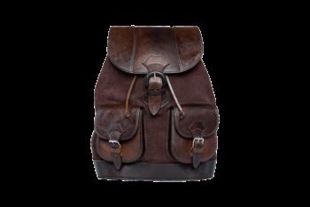 hecho Lederrucksack Alvaro, Rucksack, Leder, handgefertigt, fair trade, leather bag pack