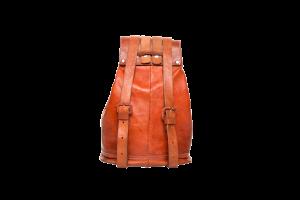 hecho. handgefertigter Lederrucksack Carla, fair gehandelter Rucksack, fair Trade Leather Bag Pack