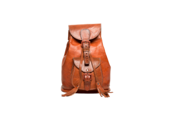 hecho. handgefertigter Lederrucksack Carla, fair gehandelter Rucksack, fair Trade Leather Bag Pack