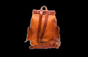 hecho Lederrucksack Cesare, Ledertasche, Rucksack fair gehandelt, fair trade, handgefertigt, handmade, Leather Bag Pack