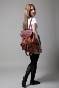Lederrucksack Cesare Rucksack Leather Bag Backpack
