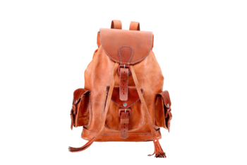 hecho Lederrucksack emma, Rucksack, Leder, handgefertigt, fair trade, leather bag pack