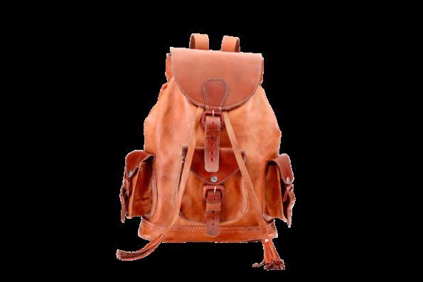 hecho Lederrucksack emma, Rucksack, Leder, handgefertigt, fair trade, leather bag pack
