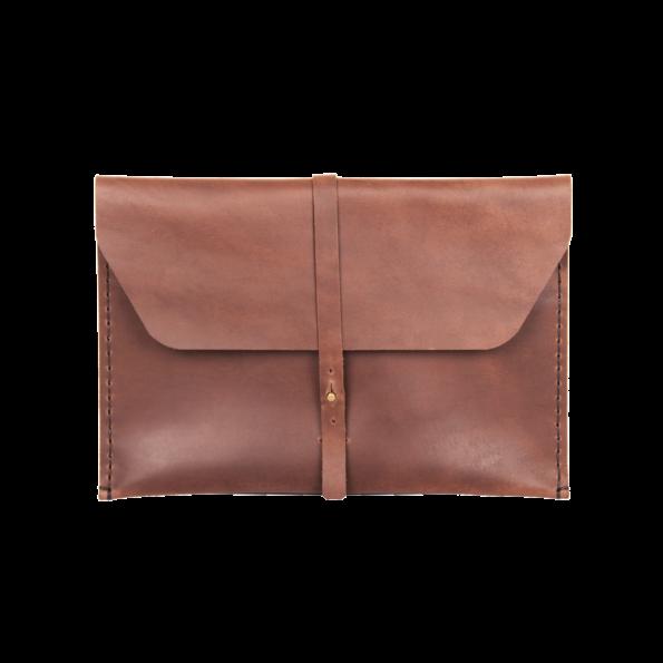 Ledertasche, Tasche, Hülle, Lederhülle, Etui, Cover, Case, Sleeve für Apple iPad Air 2, handgefertigt aus echtem Leder