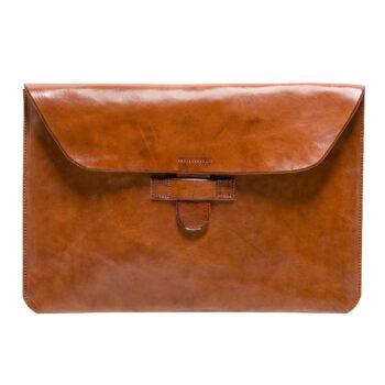 "hecho. handgemachte Ledertasche Lederhülle Tasche Hülle Sleeve Apple MacBook Pro 13"" Retina Case Protection, Fair Trade Leather Bag"