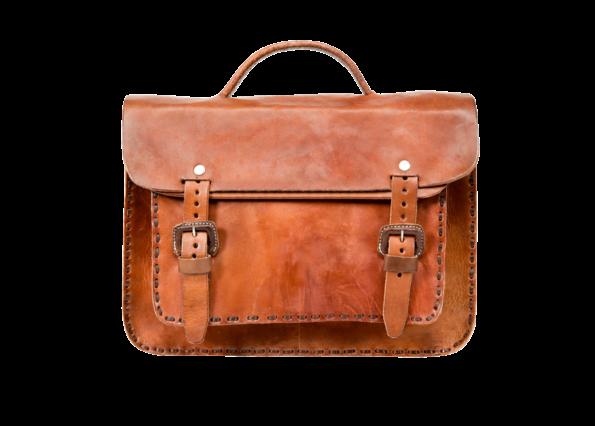 hecho Schultertasche Agnes, ledertasche fair trade, handgefertigte Aktentasche, fair trade leather bag