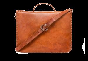 hecho Schultertasche Mini Aztec, ledertasche fair trade, handgefertigte Aktentasche, fair trade leather bag