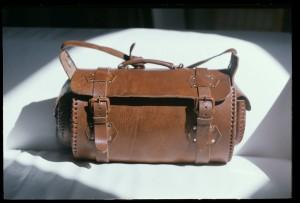 Weekender Reisetasche Vincente Ledertasche, Leather Bag