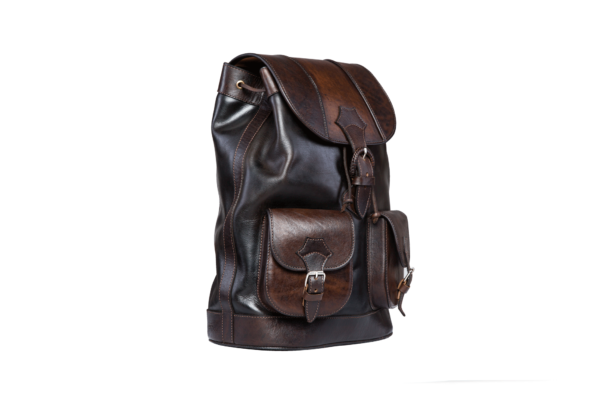 hecho Lederrucksack Alvaro, Rucksack, Leder, handgefertigt, fair trade, leather bag pack