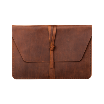 hecho. Ledertasche für Apple iPad & MacBook. Handgefertigte Laptoptasche, Case, Cover, Sleeve