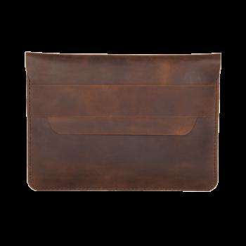 hecho. Ledertasche für Apple iPad & MacBook. Handgefertigte Laptoptasche, Case, Cover, Sleeve