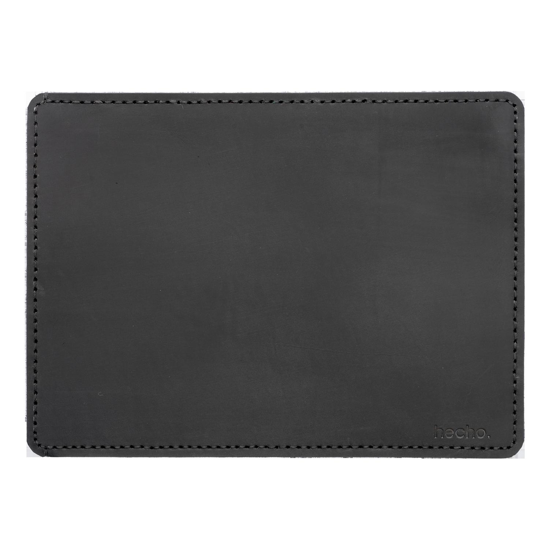 hecho. Ledertasche für Apple iPad & MacBook. Laptoptasche aus Leder. Cover, Sleeve, Hülle, Tasche für Apple MacBook