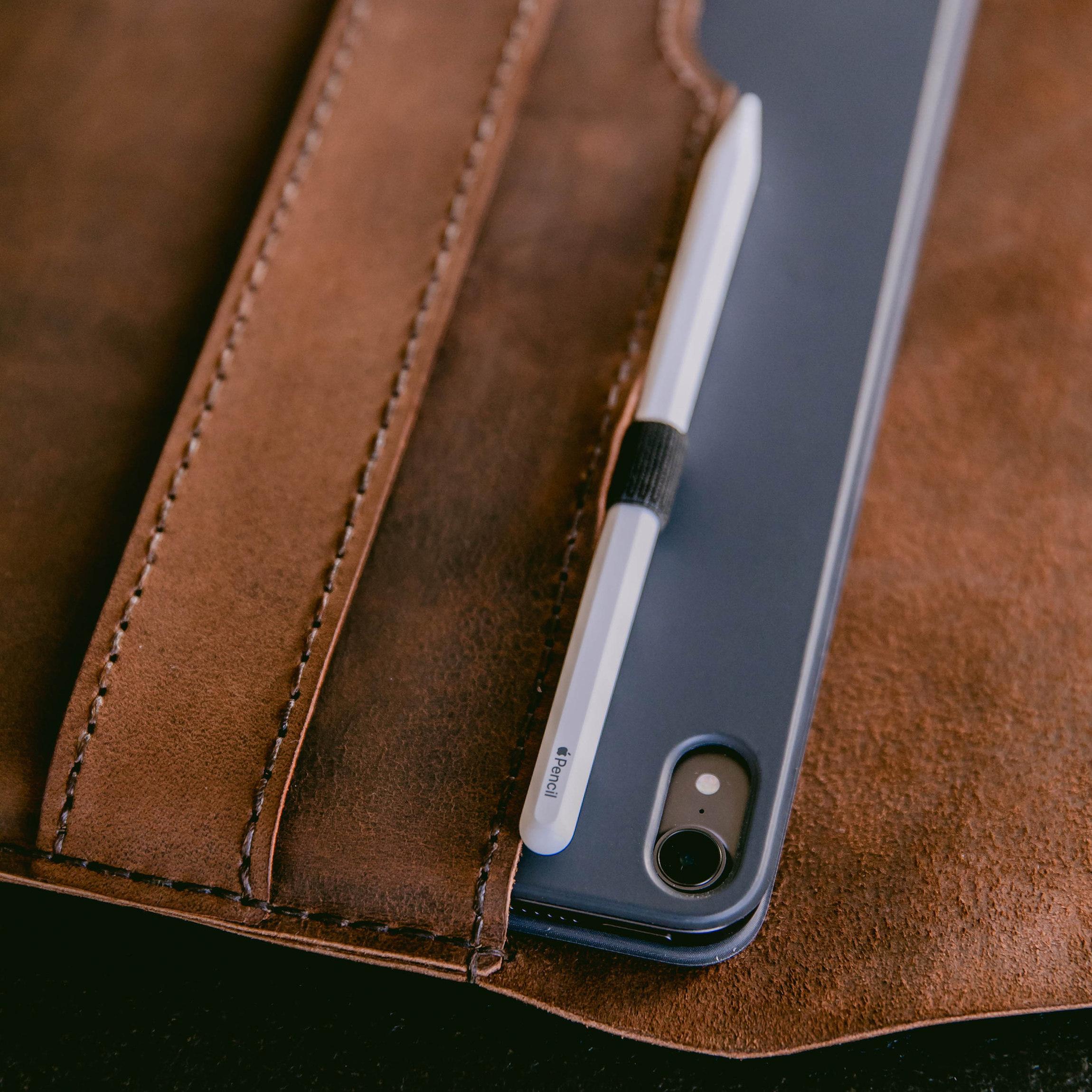 Hochwertige Leder Hülle Tasche für iPad 7, iPad Air 3 ...